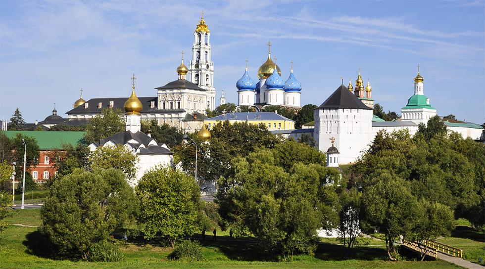 Le monastère de la Trinité Saint Serge